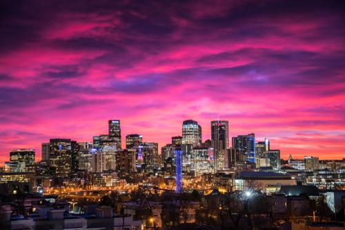 Denver, Colorado, Skyline