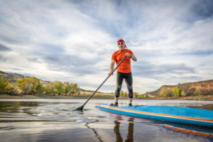 Paddleboarding in Fort Collins, CO